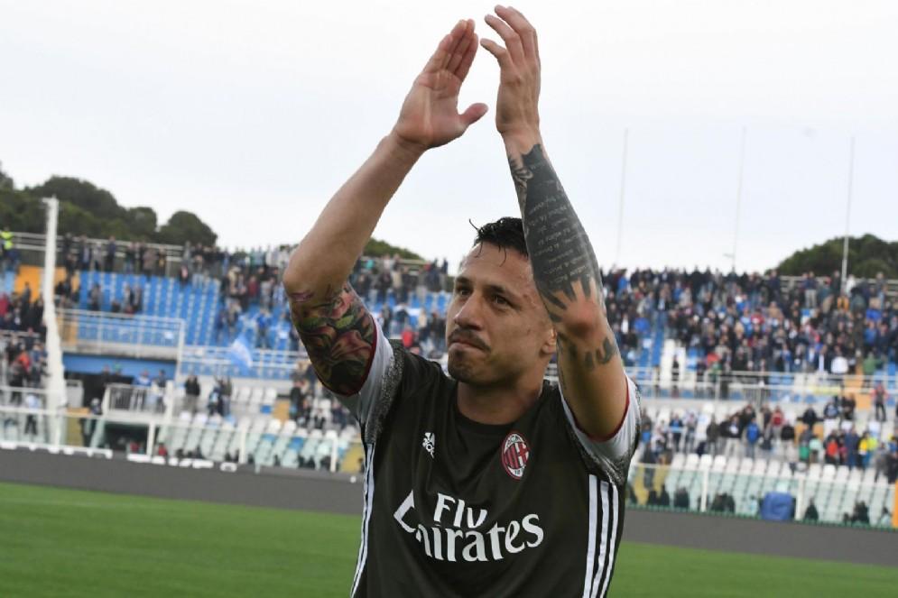 Gianluca Lapadula, 8 reti nella sua prima stagione milanista