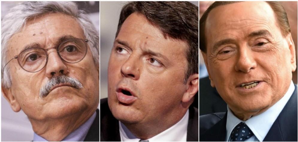 Matteo Renzi fornisce la sua ricostruzione dell'elezione di Sergio Mattarella svelando un presunto patto segreto tra Berlusconi e D'Alema.