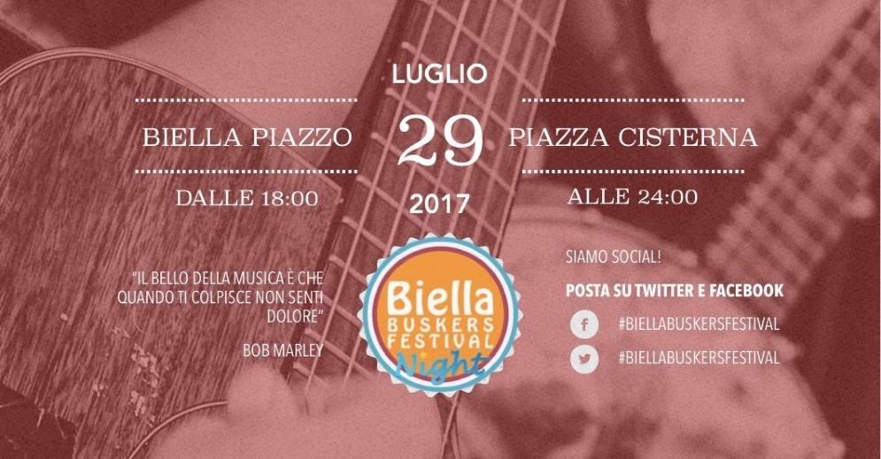 A Biella la prima edizione del Buskers Festival