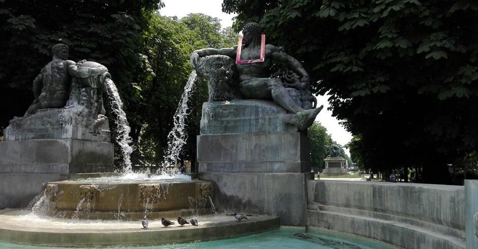 Fontana Angelica di piazza Solferino