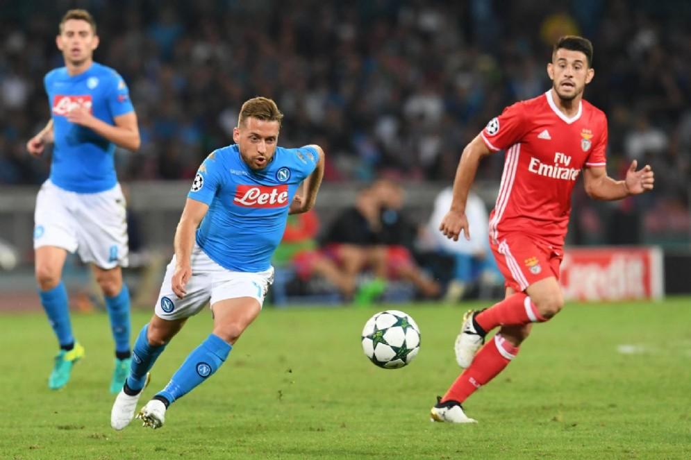 Emanuele Giaccherini, esterno offensivo del Napoli