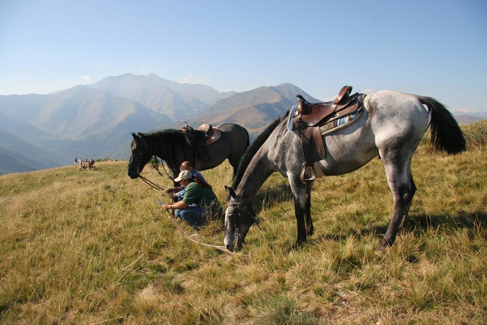 Equitazione nell'Oasi Zegna