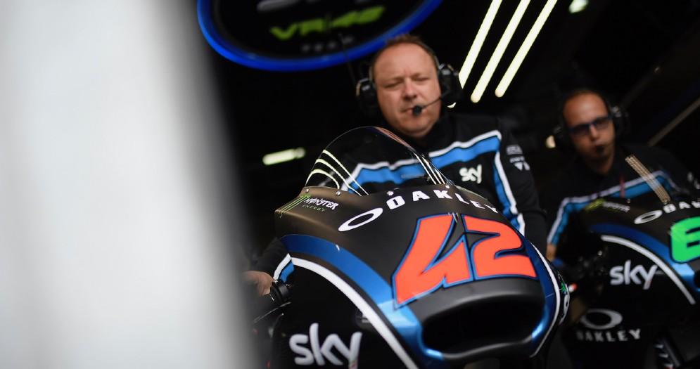 Le moto del team Sky Vr46 in classe Moto2