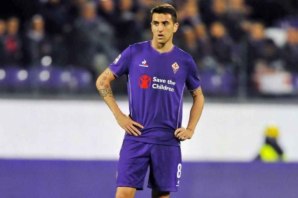 Matias Vecino, centrocampista uruguaiano della Fiorentina