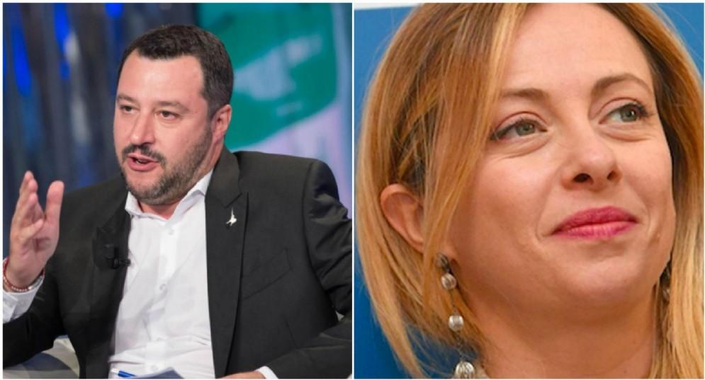 Matteo Salvini rassicura Giorgia Meloni sull'alleanza col M5s.