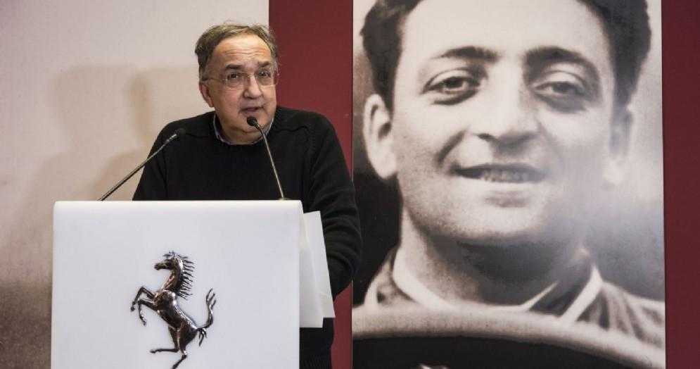 Il presidente della Ferrari, Sergio Marchionne