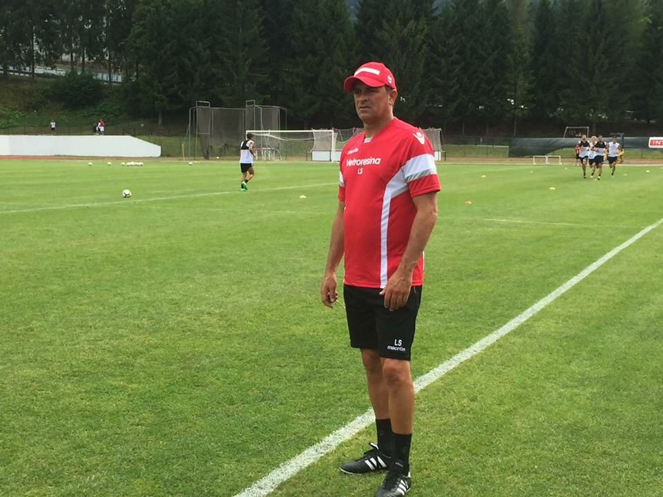 L'allenatore Leonardo Semplici