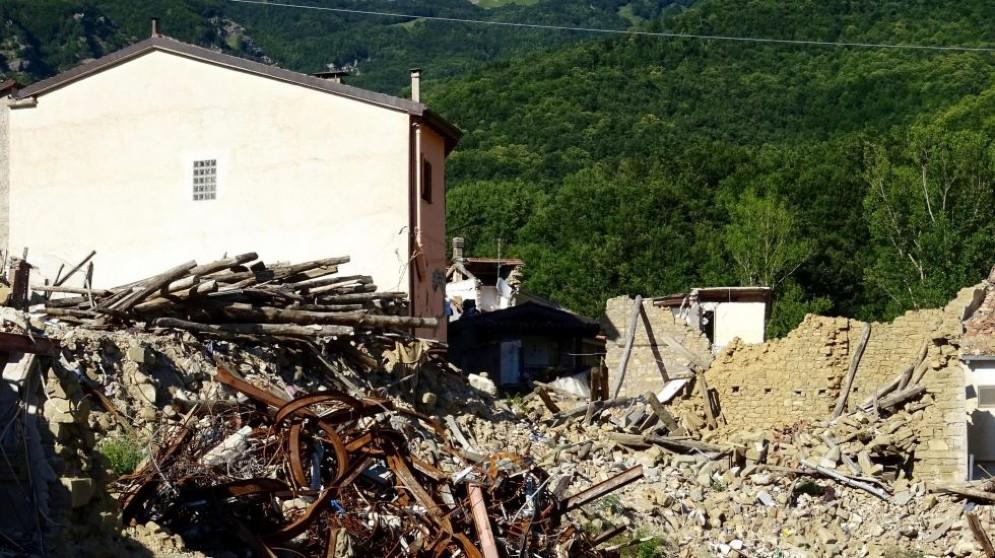 Un'altra scossa di terremoto ha colpito Amatrice questa notte.