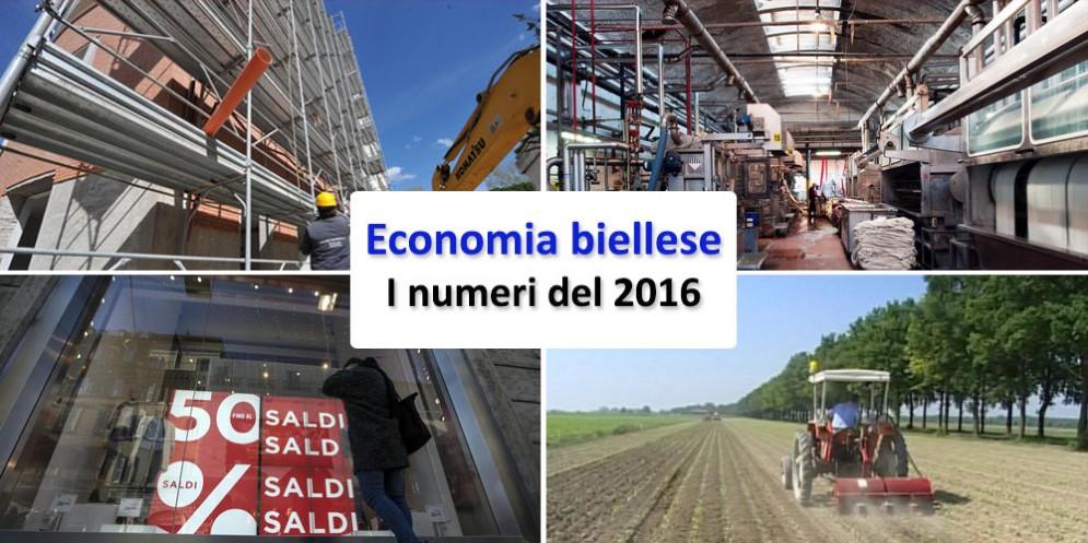 I numeri dell'economia biellese nel 2016
