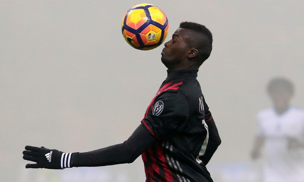 L'attaccante francese del Milan Niang