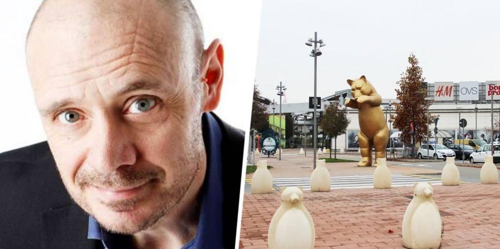 Il comico Leonardo Manera sarà venerdì al centro commerciale Gli Orsi
