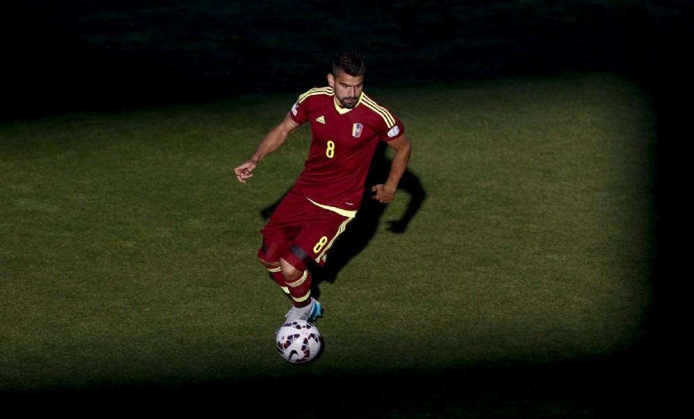 Tomas Rincon, centrocampista della Juventus e capitano del Venezuela