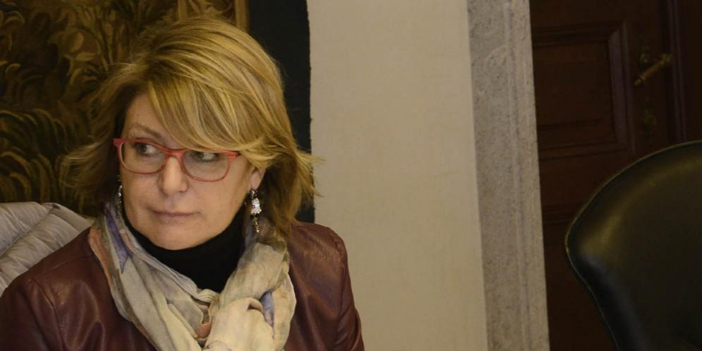 L'assessore regionale alla Salute, Mara Sandra Telesca