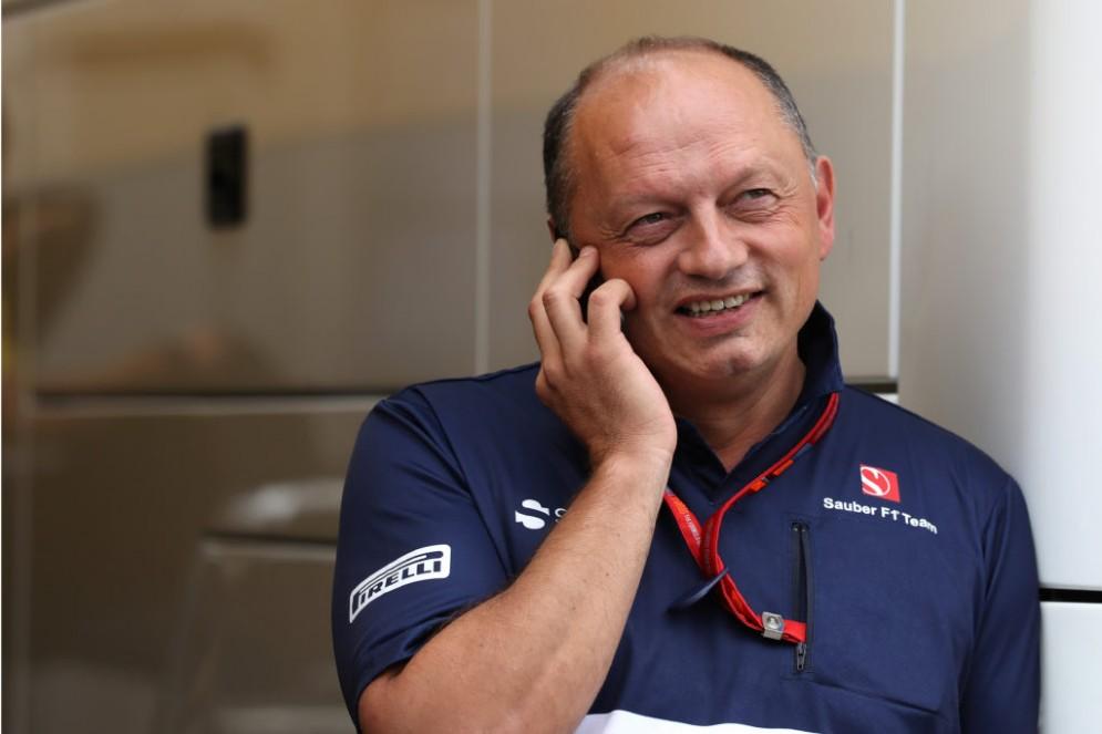 Il nuovo team principal della Sauber, Frederic Vasseur