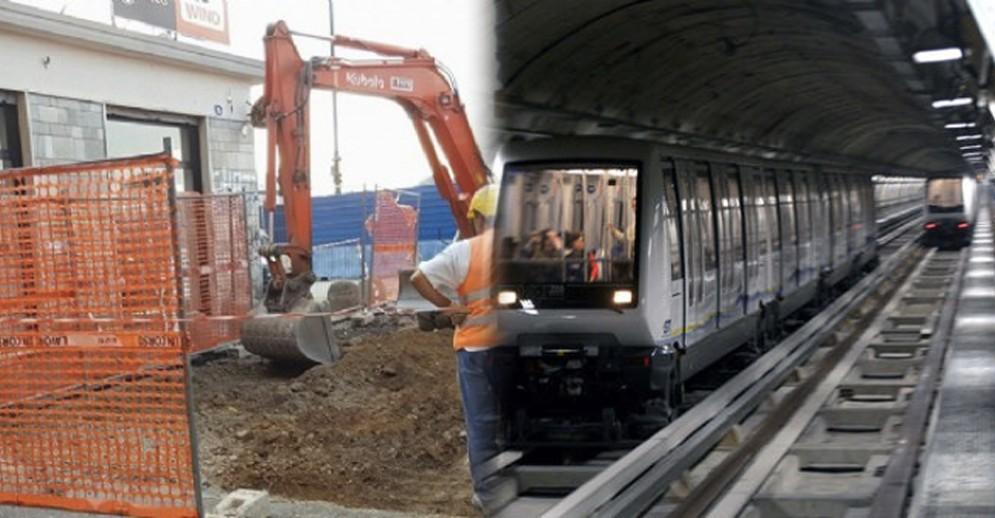 Metropolitana, smentiti i ritardi nei lavori del prolungamento linea 1