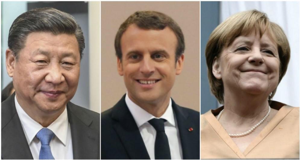 La Cina di XiJinping e la Germania di Angela Merkel vantano giganteschi surplus commerciali, inizia dalla Francia la de globalizzazione?