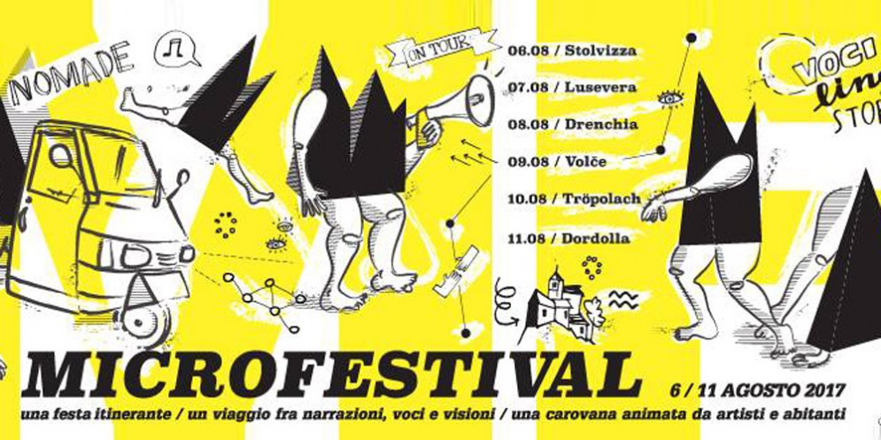 Parte la carovana diMicrofestival!