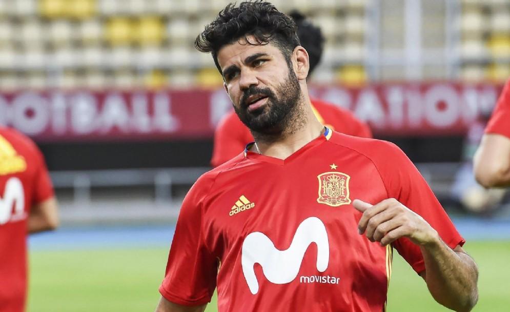 L'attaccante Diego Costa