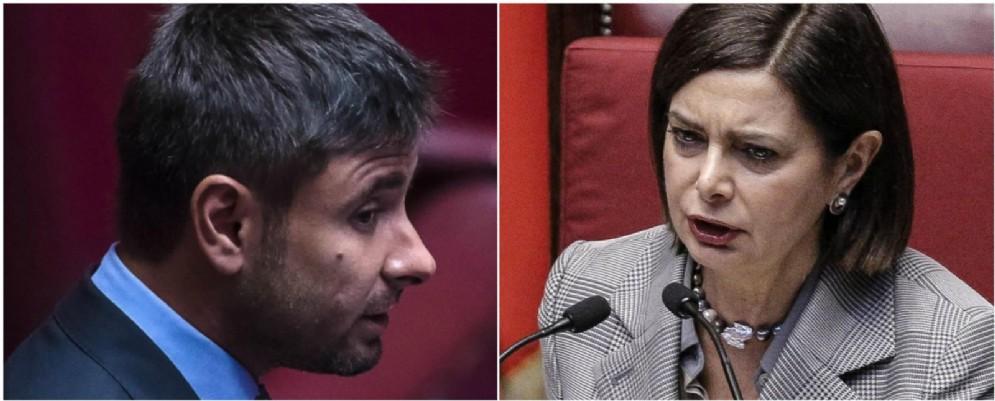 Alla Camera è andato in scena lo scontro frontale tra Laura Boldrini e Alessandro Di Battista.