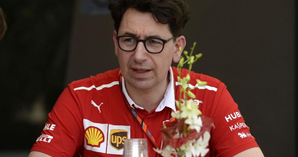 Il direttore tecnico della Ferrari, Mattia Binotto