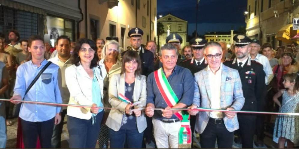 Palmanova si rifà il look: messo a nuovo Borgo Aquileia