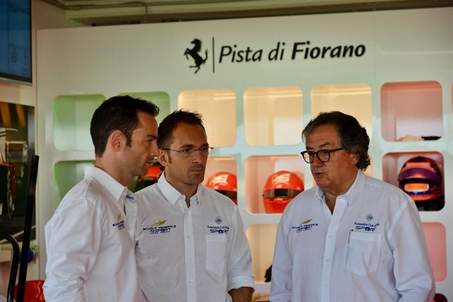 Gli istruttori Raffaele Giammaria e Giancarlo Minardi