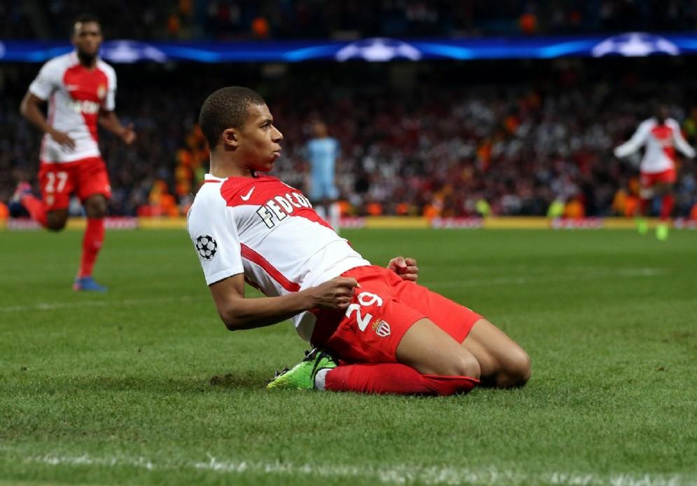 Kylian Mbappé, 18 anni, attaccante del Monaco