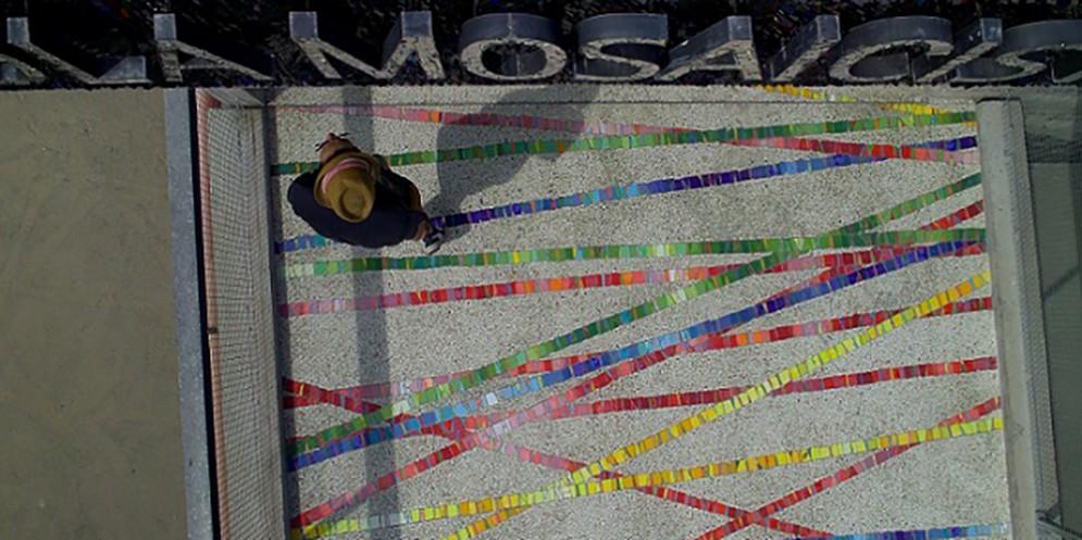 Scuola Mosaicisti Fvg protagonista in Kazakistan