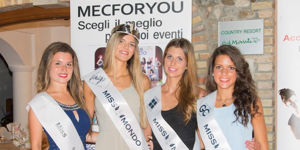 Miss Mondo Fvg: assegnate nuove fasce alle bellissime della regione