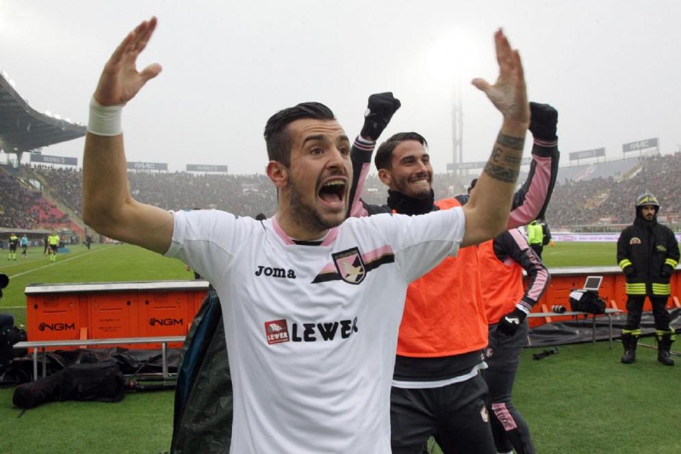 Ilija Nestorovski, 11 reti nell'ultimo campionato con il Palermo