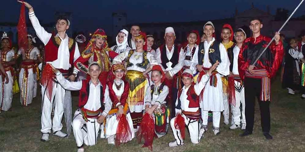 Danze e musiche dal mondo a Villa Manin, il gruppo dell'Albania