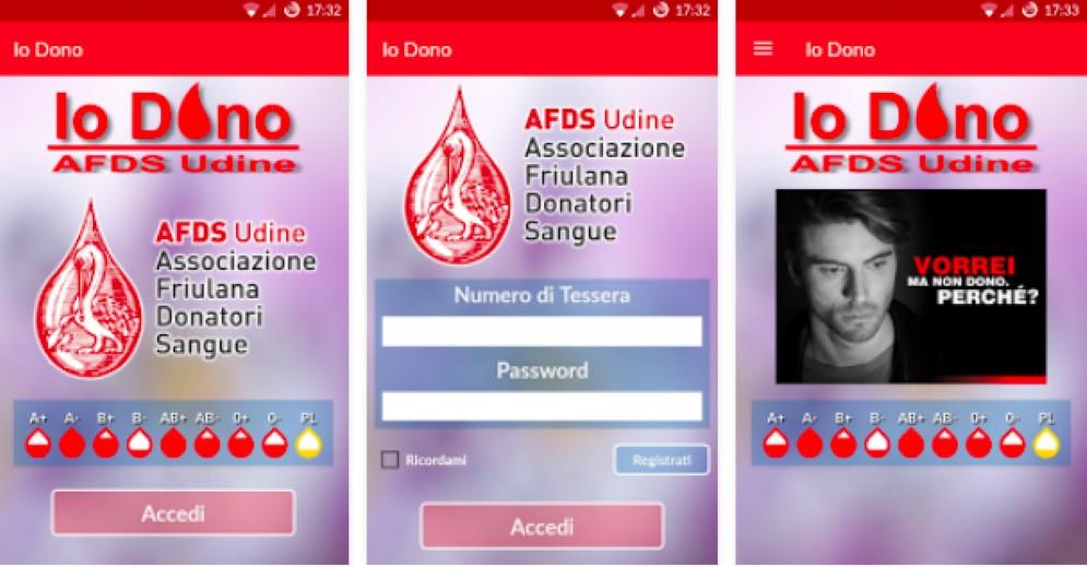 Afds, una App per prenotare la donazione e ricevere informazioni