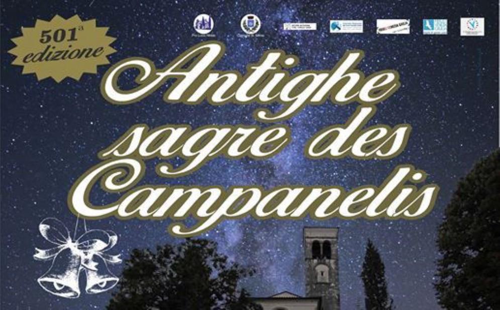 A Nimis è tutto pronto per l'Antighe Sagre des Campanelis