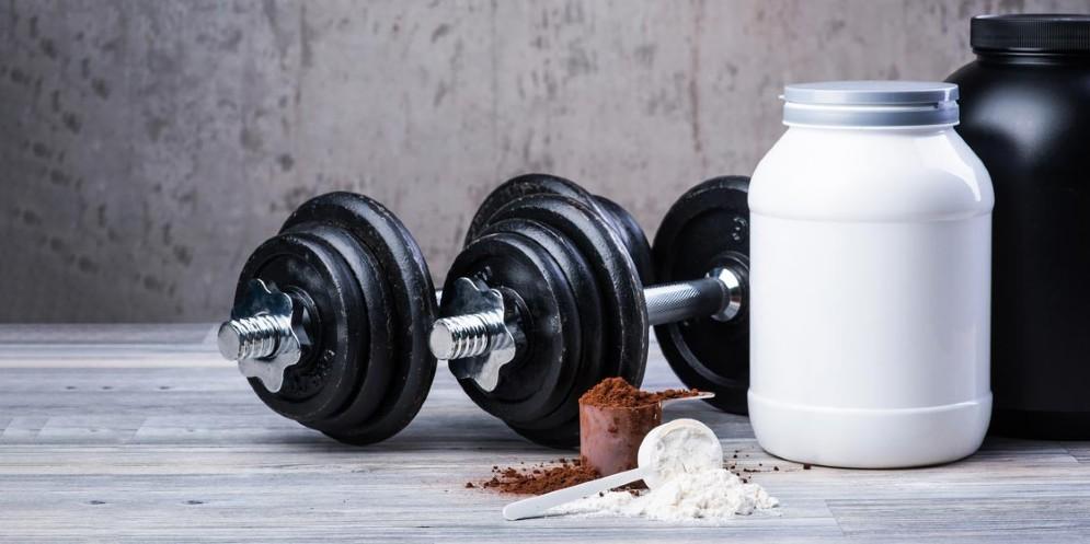 Integratori di proteine per lo sport