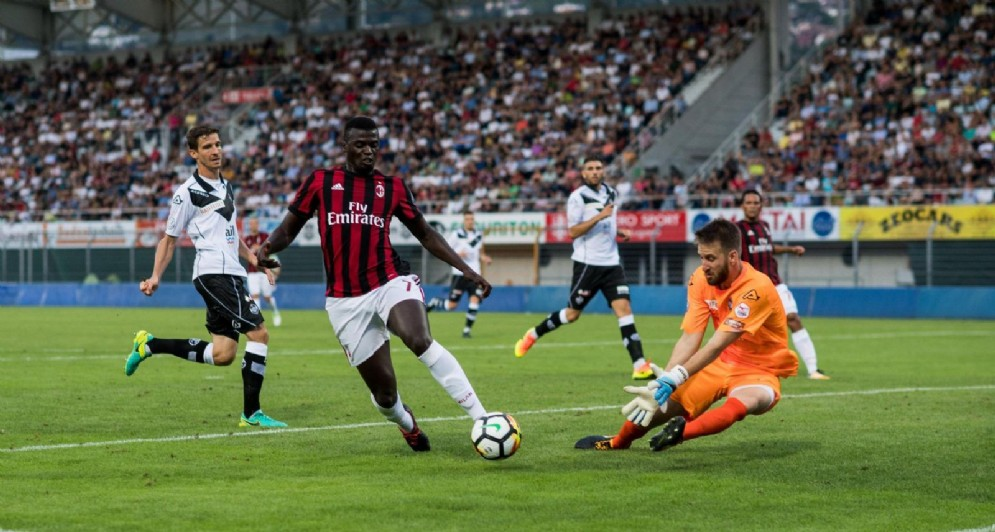 M'Baye Niang, attaccante francese del Milan