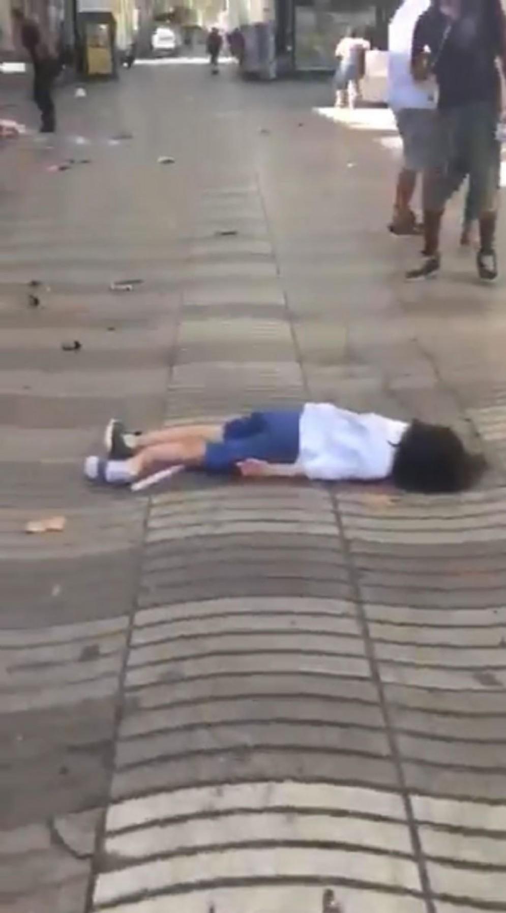 Attentato sulla Rambla di Barcellona
