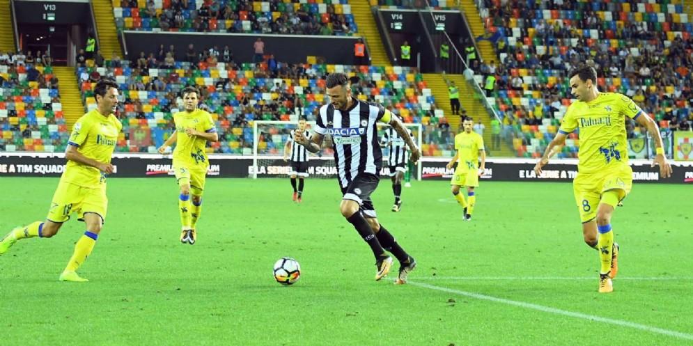 Esordio amaro per l'Udinese: il Chievo espugna il Friuli (© Diario di Udine)