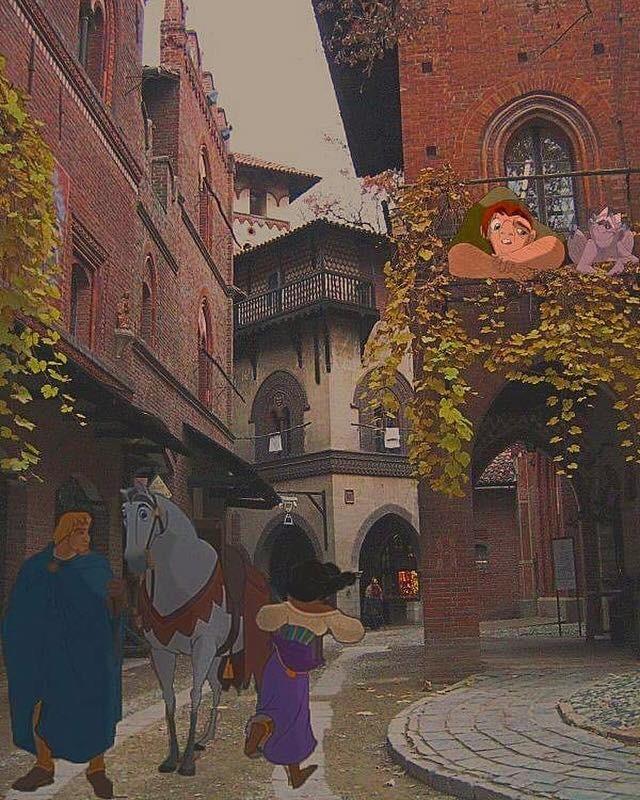 Il Gobbo di Notre Dame al Borgo Medioevale