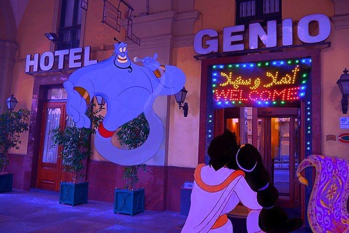 Aladdin all'Hotel Genio