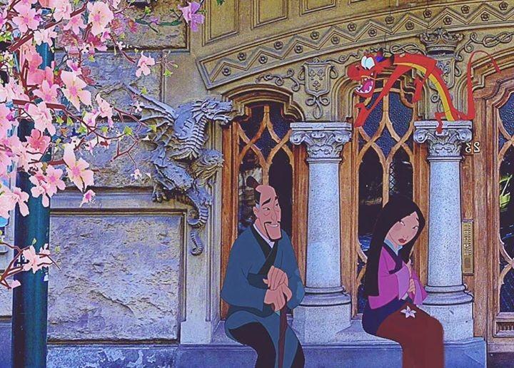 Mulan al Palazzo della Vittoria
