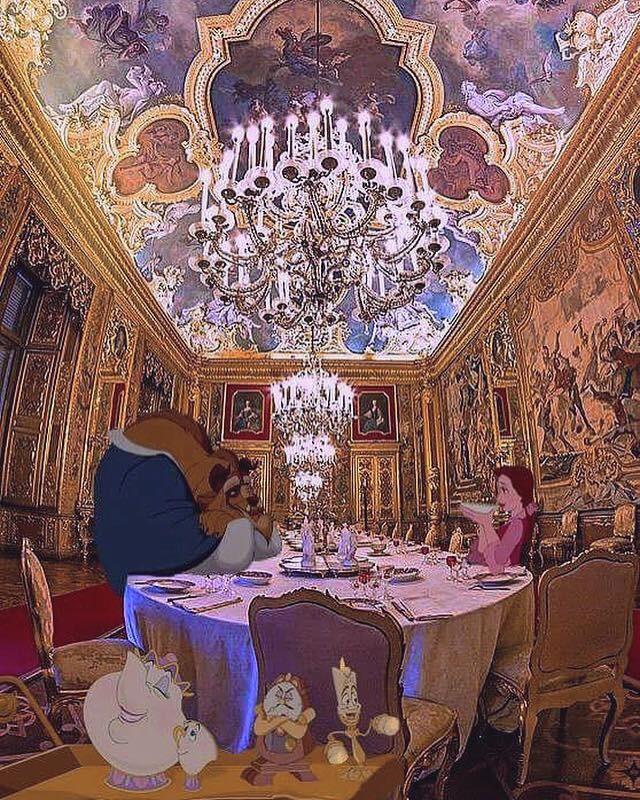 La Bella e la Bestia a Palazzo Reale