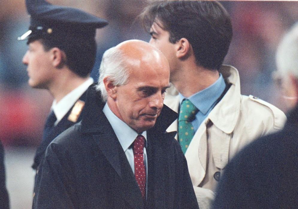 Arrigo Sacchi è stato l'allenatore del Milan dal 1987 al 1991 e dal dicembre 1996 a giugno 1997