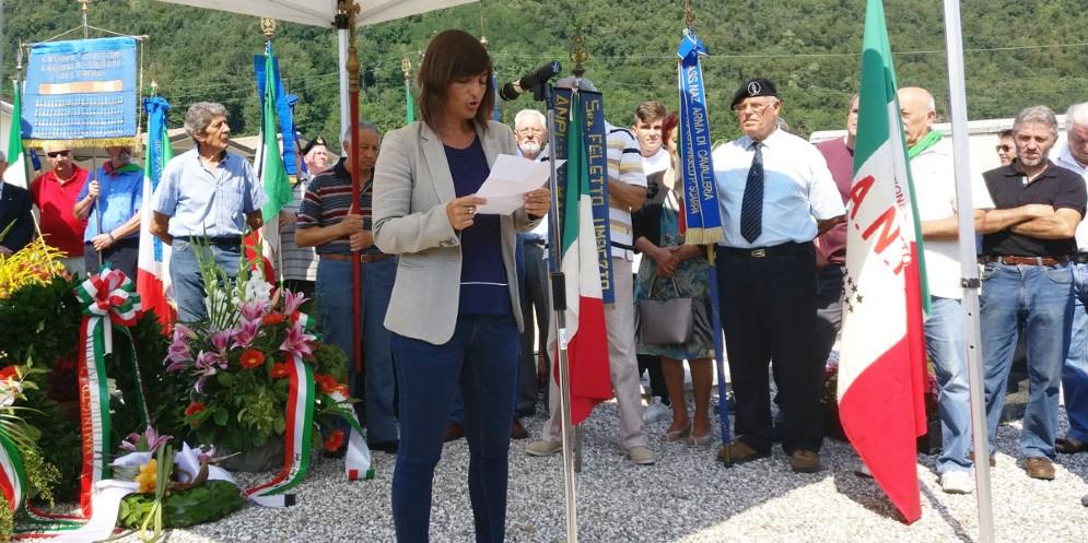 Eccidio di Torlano, per Serracchiani la libertà «è una conquista quotidiana»