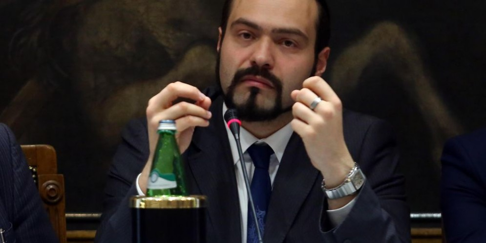 L'europarlamentare M5s Massimo Castaldo
