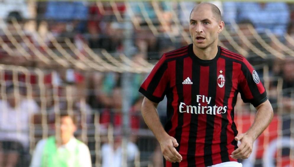 Il difensore del Milan Gabriel Paletta