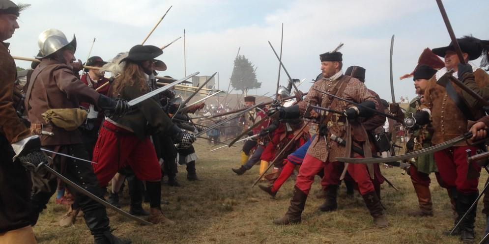 Rievocazione storica a Palmanova : A.D. 1615 Palma alle Armi