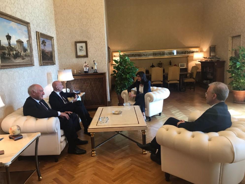 L'incontro tra la sindaca Appendino e il ministro Minniti