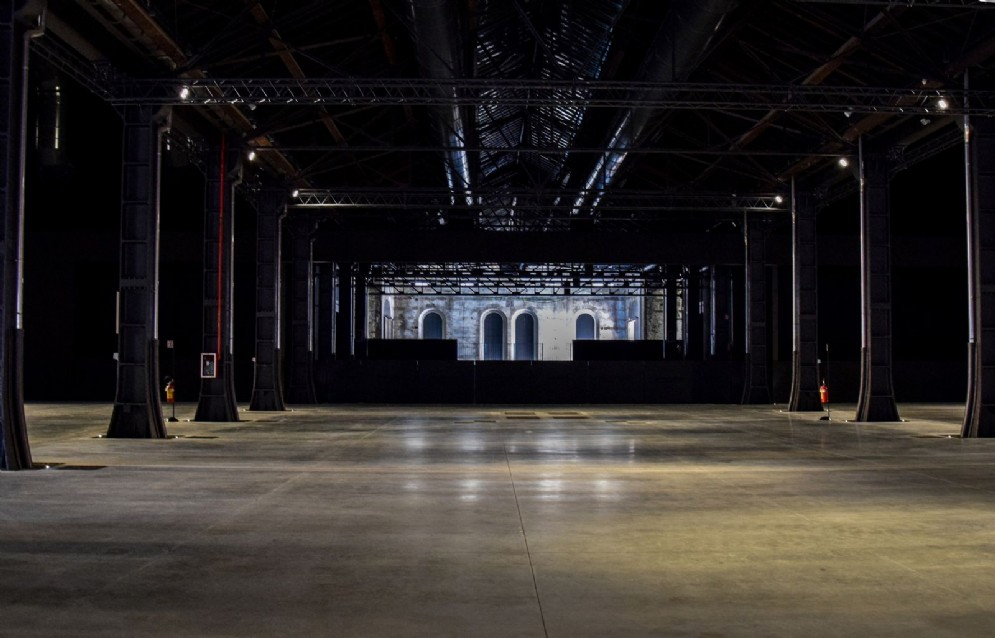 """Area Spettacoli - """"Sala Fucine"""" (© Adele Palumbo)"""