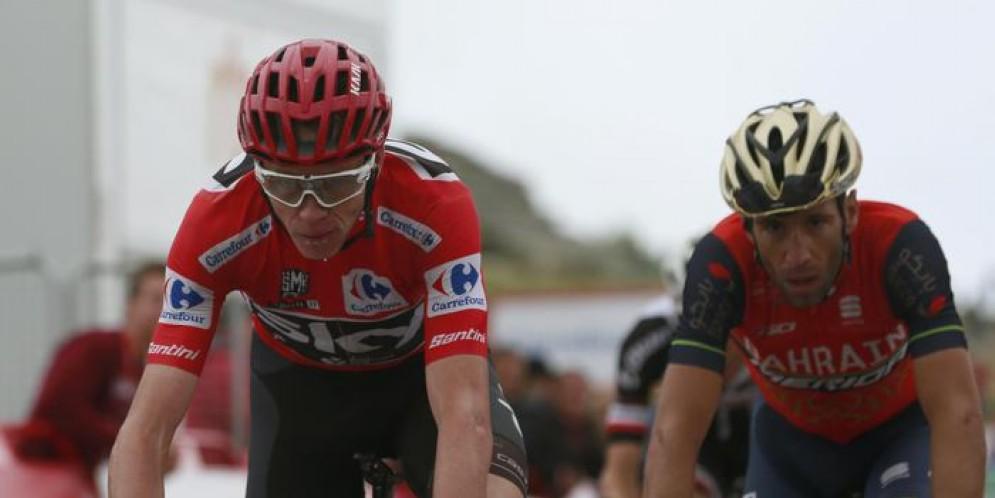 Vuelta: Nibali recupera 42 secondi a Froome
