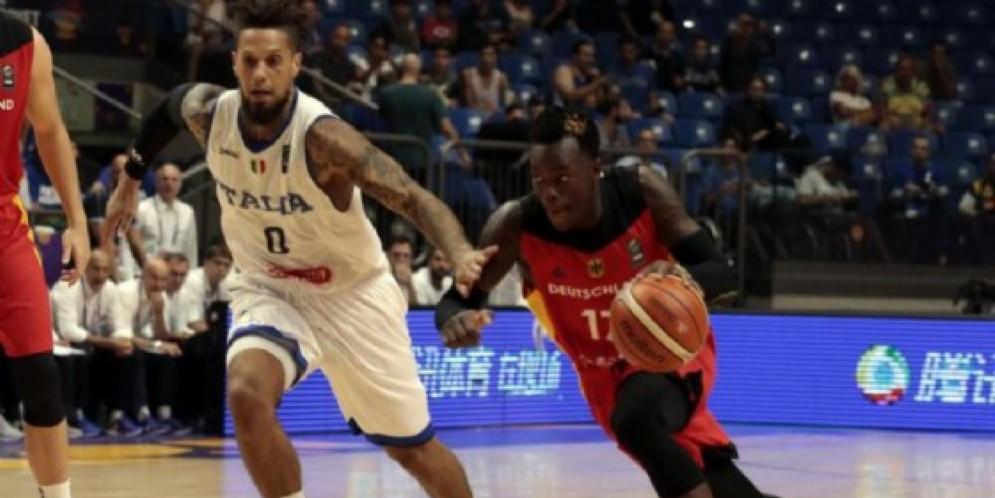 Basket, Europeo: Italia-Germania 55-61